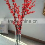 high imitation Artificial rose color peach flower Tree /Branch for indoor/outdoor decoration