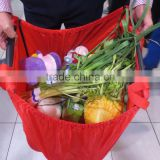 Eco grocery cart shopping bag divider