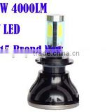 40W High Lumen 4000LM H7 CR EE LED CAR BULBS LED HEADLIGHT H7 CAR LED BULB CAR HEAD LIGHT LED