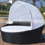 Fancy product rattan saybed outdoor furniture rattan wicker daybed on promotional                                                                         Quality Choice