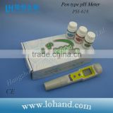 Automatic calibration waterproof hand held digital ATC chemical pH meter with replaceable pH electrode