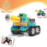 Hot style4 Channel Remote Control suit remote Variety building blocks bricks educational toys assembled robot tank