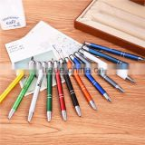 New luxury gift promotion metal ball pens with custom logo advertising personalized metal pens promotional
