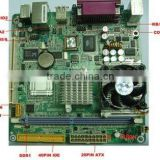 Industrial Mini ATX Motherboard for POS machines, lottery machines, touch one computer, VOD set-top boxes, car computer