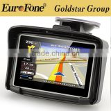 "4.3"" Waterproof motorcycle gps navigator for car and motorcycle with BT 8G Free Maps from Prolech factory Car GPS Navigation"