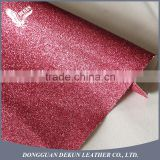 Factory supply best quality glitter fabric wallpaper leather