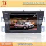 6.2 inch HD touch screen 2011 Buick Excelle car DVD GPS with IPOD,games,digital TV available
