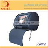 latest design car 7 inch cheap portable headrest dvd player with cover