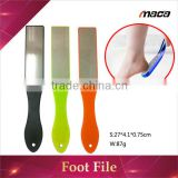 FF1274 high quality disposable stainless steel pedicure foot file with plastic long handle                                                                         Quality Choice                                                     Most Popular