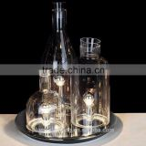 Modern Glass Bottles Shap Table lamp for bar cafe PLT8075-3