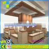 MDF material modern style watch store furniture