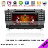 For BENZ C CLASS W203CLK CLASS 7 inch car dvd vcd cd mp3 mp4 player