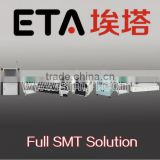 pick and place machine,LED SMT whole solution ( LED SMT solder paste printer+ conveyor+led smt mounter+reflow oven )