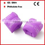 PVC inflatable swimming armbands round shape for adults