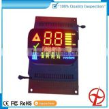 led module 7 segment display for air condition with colorfull
