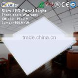 Wholesale alibaba aluminum standard sizes square dimmable ultra slim led panel light price