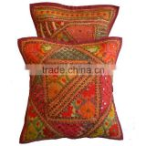 Home Decorative handmade Patchwork Ethnic Designer cushion pillow covers buy directely from manufacturer in india
