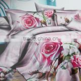 100%polyester 110gsm fabric 3d manufacture brushed fabric dispersed printing bed sheet