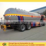Propane gase tank truck 8x4 dongfeng top level lpg bobtail truck