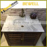 top grade european style white bathroom vanity made in china