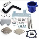 EGR Cooler & Throttle Valve Delete Kit for 10-12 Dodge Ram 6.7L Cum mins Diesel