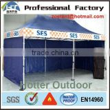 quick assembly promotional advertising folding tent/pop up canopy tent for outdoor commercial use