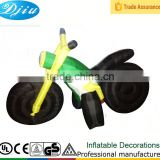 DJ-139 2015 4ft black colorful Fashion popular arabic inflatable party Motorcycle scooter decoration