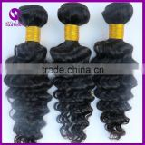 NEW deep wave cheap bundles of wet and wavy indian remy hair weave bundles accept paypal