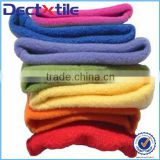 Hot sale brushed polyester fabric/woollen blanket fabric /baby blanket fabric