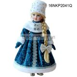 New snow maid wholesale russian ceramic porcelain doll