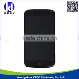 original cellphone lcd display for lg e960 nexus 4 , touch screen spare parts for lg google nexus 4