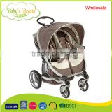 BS-44A wholesale softtextile china double baby stroller baby buggy manufacturer