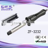 Magic hair curler professional curling iron with comb ZF-3232