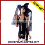 Futian market yiwu wholesale china supplier high quality black sexy fairy girl tail cosplay costumes for sale