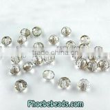 Wholesale 4MM Popular Ordinary Color Flat Round Crystal Glass Beads PB-CB025