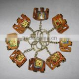 Buy Wooden Elephant Key Chain / Elephant Key Rings / Handicrafts Gift Items
