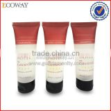 Cheap plastic matte body lotion tube with custom logo print