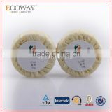 35g hotel round soap in paper pleat wrap with logo best bath soap