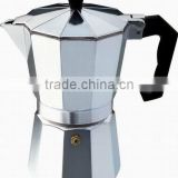 Italy moka coffee maker, aluminum coffee maker,stove top coffee maker ONLY USD2.5/set