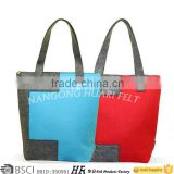 big large felt shopping bags with handle