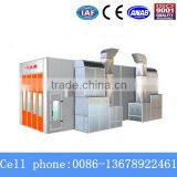 75mm Wall Rock Wool Board Bus Paint Booth With Baking Funcation (CE,QX3000A)
