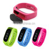 Smart Bluetooth Car Caller Headphones Sport Touch Health Bracelet