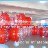 advertising knocker zorb bumper ball for cheap inflatable