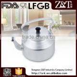 Single bottom wash white aluminum water kettle