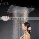 wholesale bathroom accessories 500*360mm square shower head embedded ceiling rainfall shower head