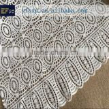 In stock item white french cotton chemical lace/ african cupion lace embroidery fabrics in indonesia wholesale market in russia