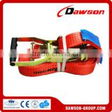 Truck Lashing Belt for Cargo Ratchet Tie Down With Swan Hook