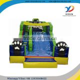 best sell inflatable rock climbing wall with slide                                                                                                         Supplier's Choice