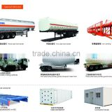 CIMC Special Vehicles:Fuel tanker,car carrying,Concrete Mixer Truck,Bulk powder goods trailer