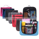 Portable Hanging Travel Toiletry Bag/ Wash Bag/ Make Up Cosmetic Bags with Hook